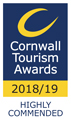 Cornwall Tourism Award 2018/19
