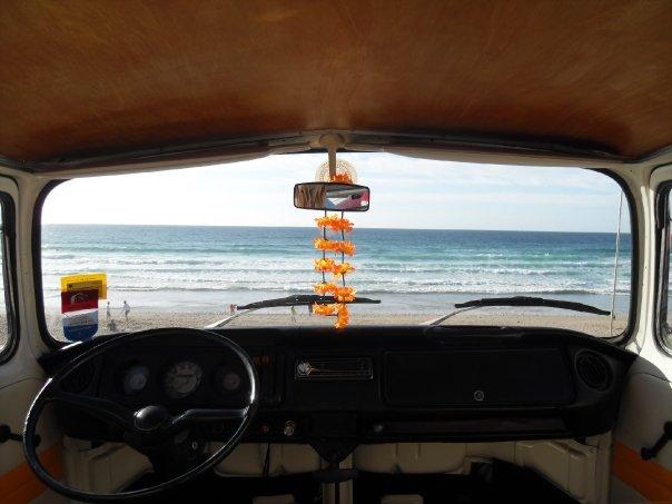 Fistral Bays VW camper